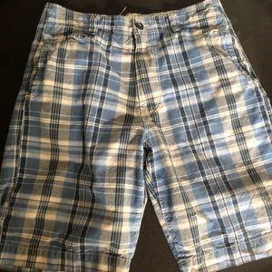 American Eagle Men's Plaid Shorts 33